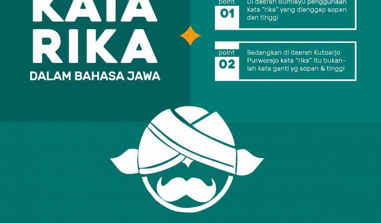 Mempertanyakan Tingkat Kesopanan Kata Rika dalam Bahasa Jawa