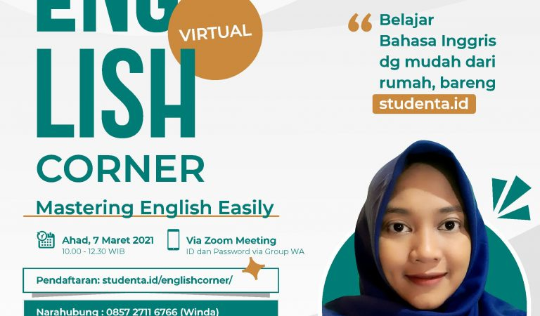 Online Discussion – [English Virtual Corner]
