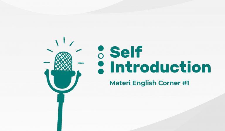 #1 Belajar Self Introduction